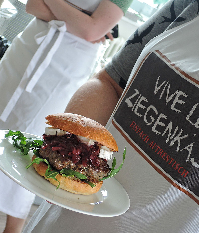 Workshop Burger bei Lecker in Hamburg