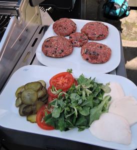 Gourmet Burger Italien
