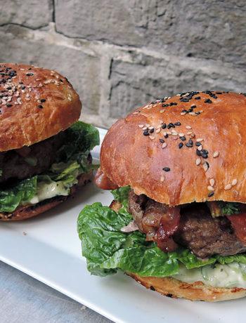 Grillgiganten: Burgerwettstreit in Essen