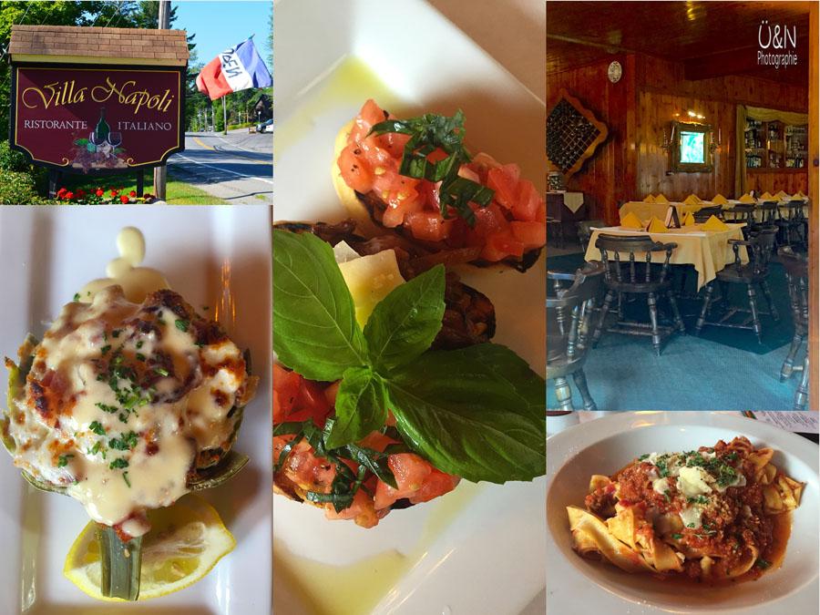 Italienisch essen in USA