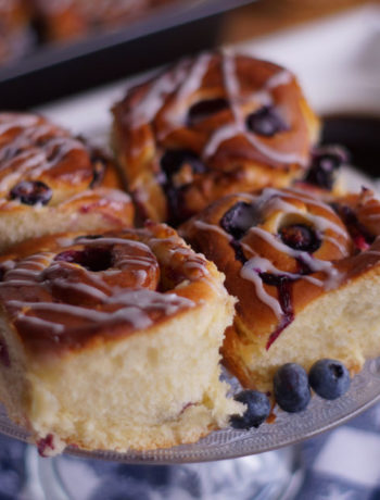 Blueberry Breakfast Buns