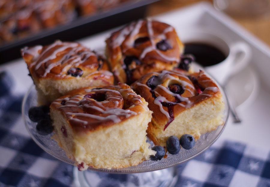 Blueberry Breakfast Buns