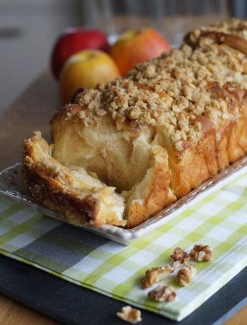 Pull-Apart-Brot fertig