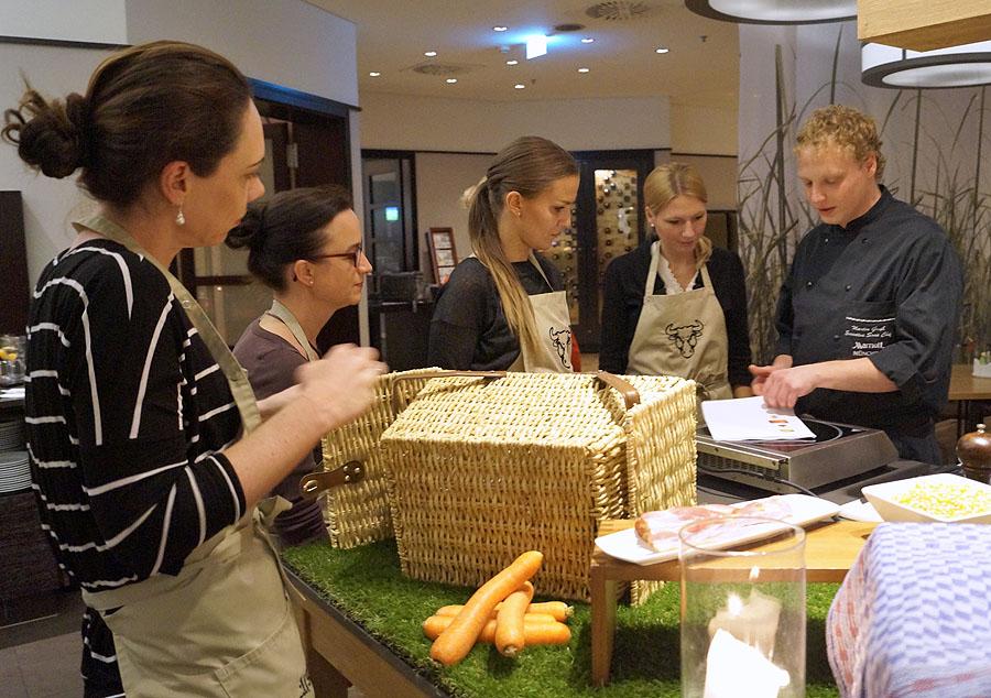 Thanksgiving-Truthahn – im Marriott München