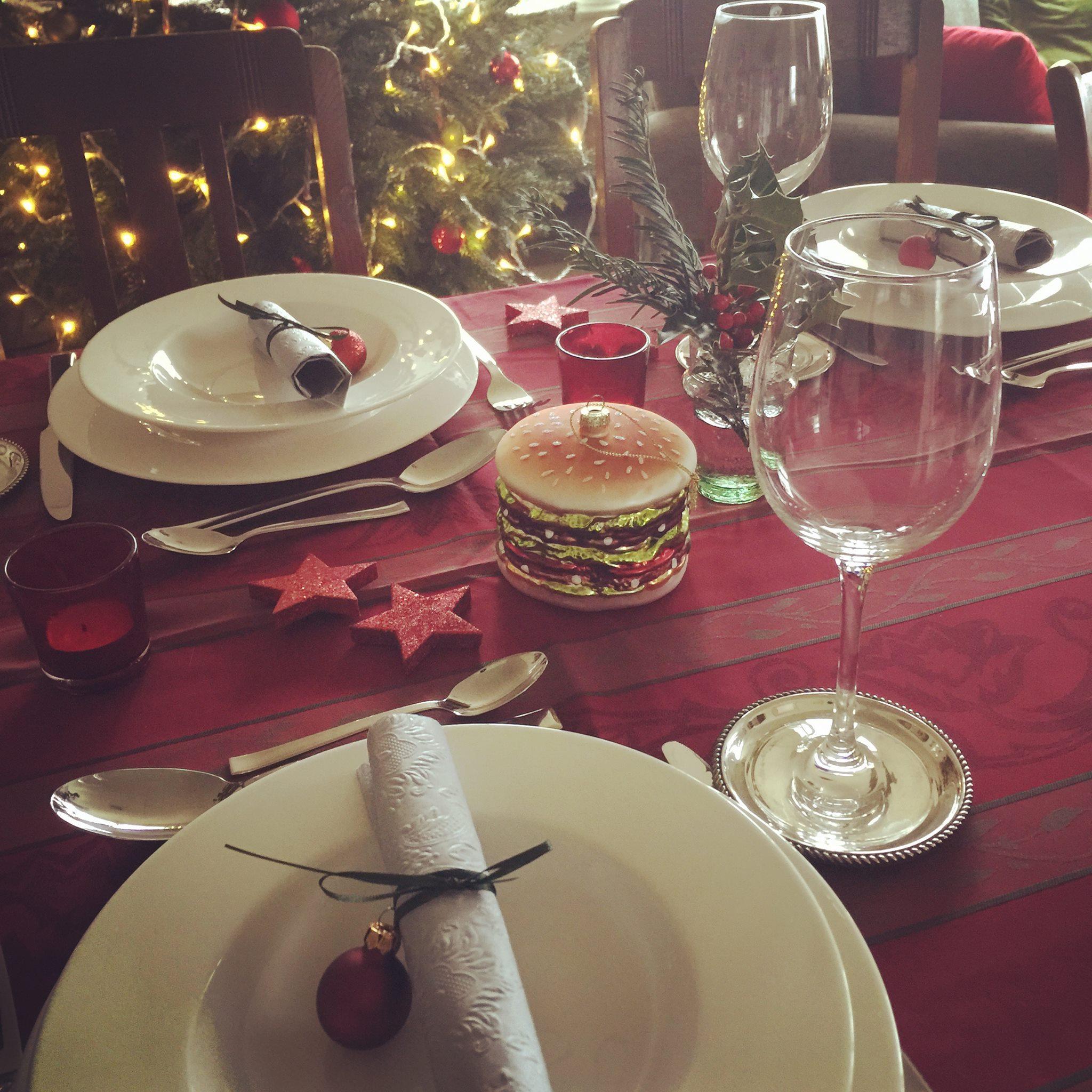 Mal was anderes: Weihnachtsmenü mit Hamburger