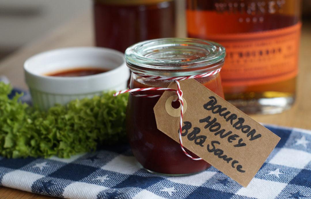 Rezept für Honey BBQ Sauce / Grillsauce mit Honig