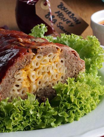 Anleitung Bacon Bomb Hackbraten - fertiger Braten