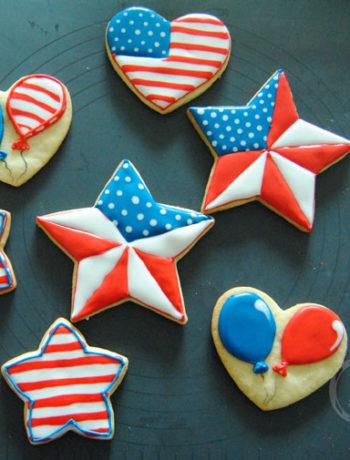 Set-Kekse-zum-4_Juli aus den USA