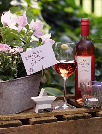 Sommerabend mit Gallo Wein