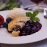 Blueberry Cobbler vom Grill