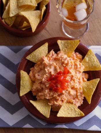 USA-Rezept: Pimiento Dip mit Chips