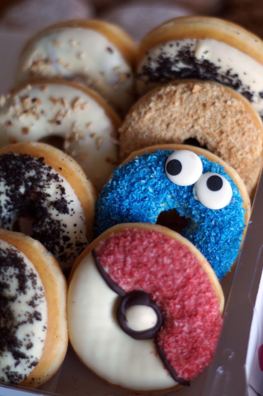 Das Donut-Battle: Dunkin' Donuts gegen Happy Donazz