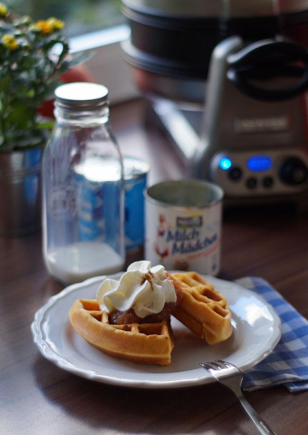 Best ever waffles (Milchmädchen-Waffeln)
