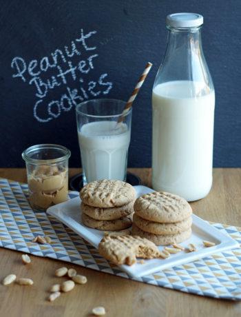 USA-Rezept für Peanut Butter Cookies / Erdnussbutterkekse