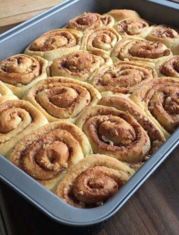 Rezept für Zitschnecken nach King Arthur Flour