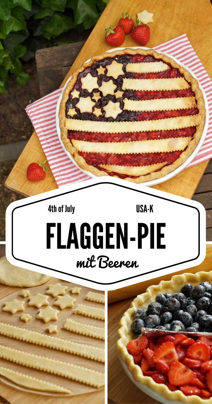 Flaggen-Pie zum 4th of July