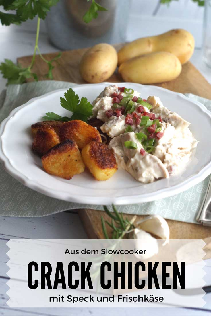 Crack Chicken - Slowcooker oder Herd