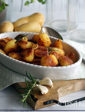 Die ultimativen Röstkartoffeln - mit ganz wenig Fett