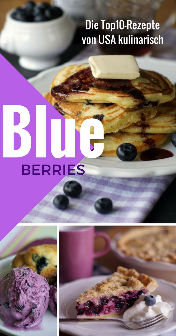 BlaubeerSpecial auf USA kulinarisch