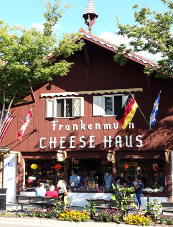 Frankenmuth - the German Town in the USa