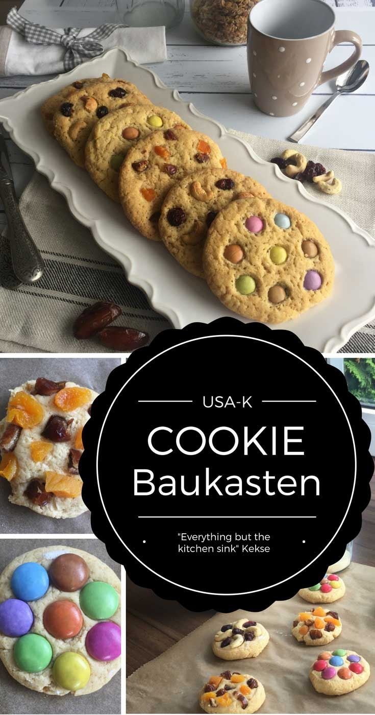 Grundrezept Cookies - everything but the kitchen sink cookies