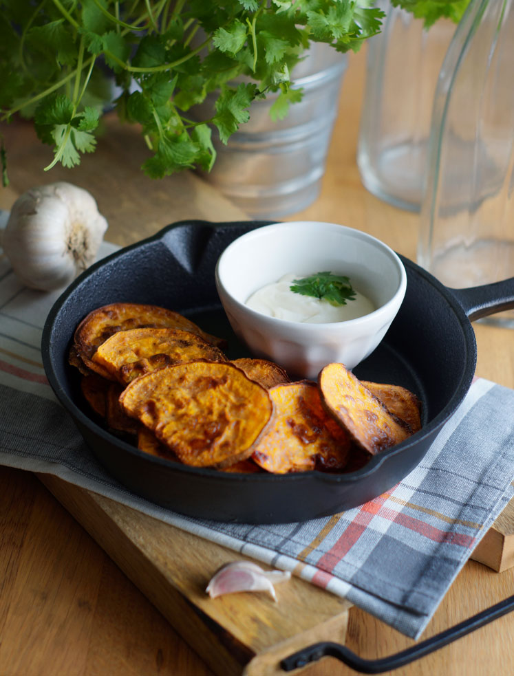 Sweet Potato Chips (Süßkartoffel-Chips)