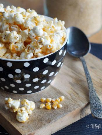 Popcorn mit Salzkaramell