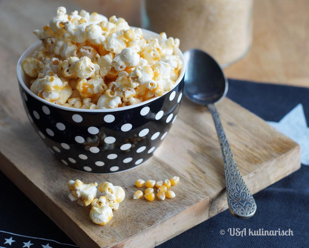 Salted Caramel Popcorn (Salzkaramell-Popcorn)