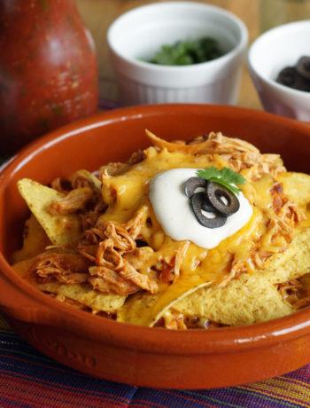 Chicken Nachos - Nachos mit Huhn