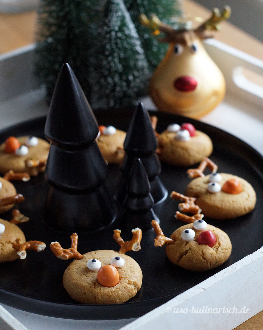 Reindeer Cookies for kids