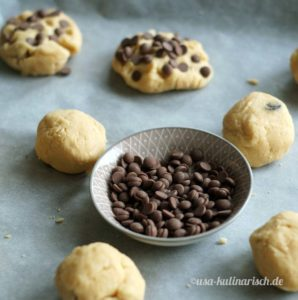 Cookies aus der Backmischung