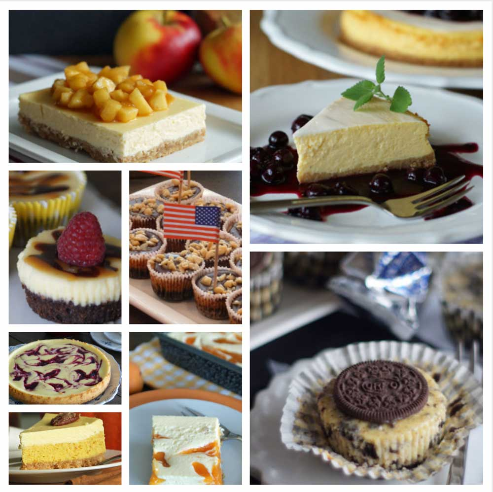 Meine Cheesecake-Collection