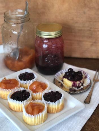 USA-Rezept für Mini-Cheesecakes aus der Muffinsform