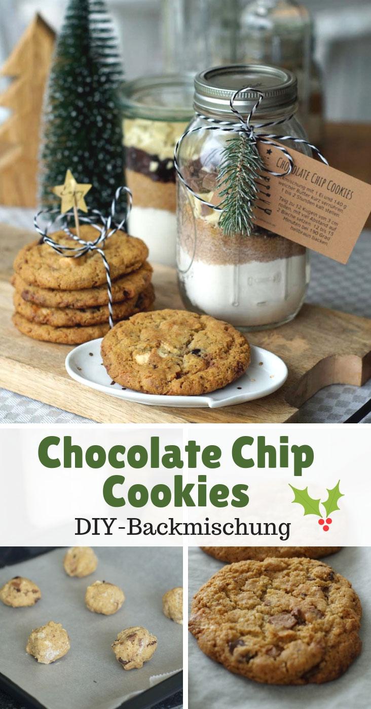 Triple Chocolate Cookies Als Diy Backmischung