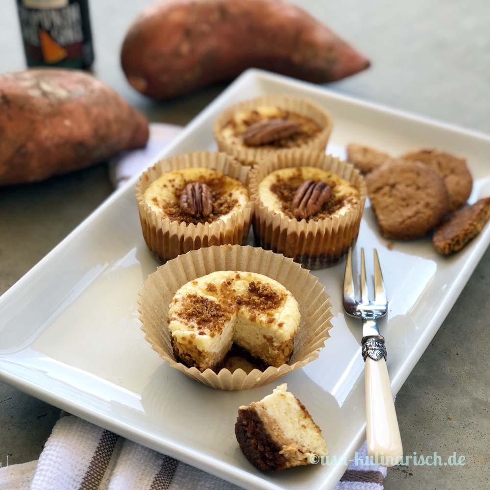 Süßkartoffel-Cheesecakes
