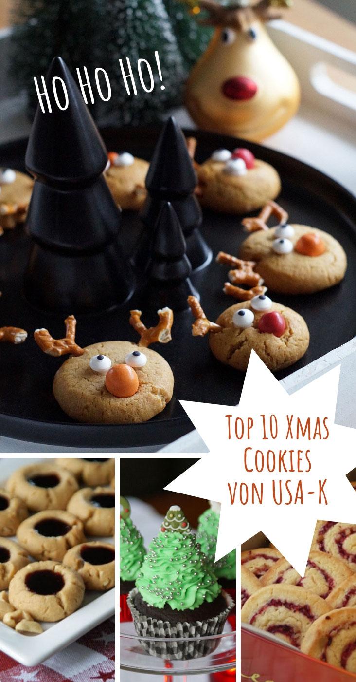 Die Top10 Christmas Cookies von USA-K