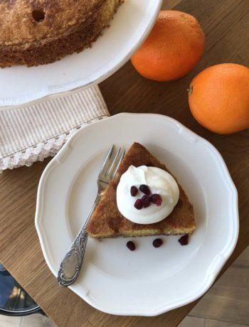 Rezept für Orange Drizzle Cake - getränkten Orangenkuchen
