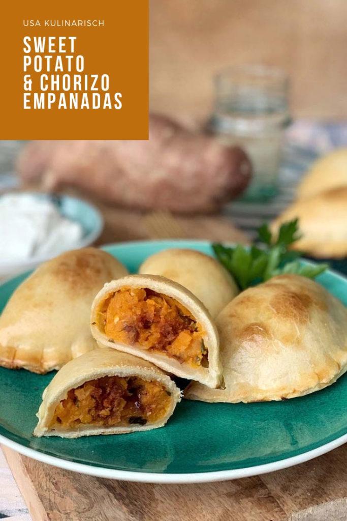 Empanadas mit Süßkartoffel und Chorizo