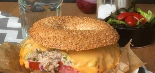 Tuna Melts - überbackene Thunfisch-Sandwiches