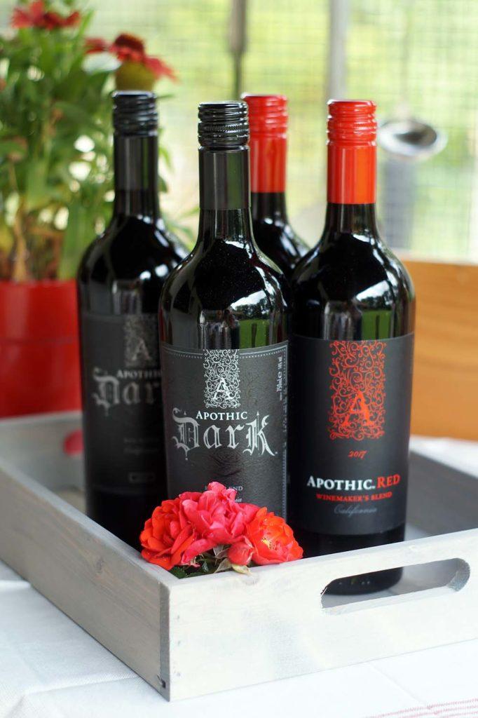 Apothic Red & Apothic Dark, kalifornische Rotweine für den Sommer