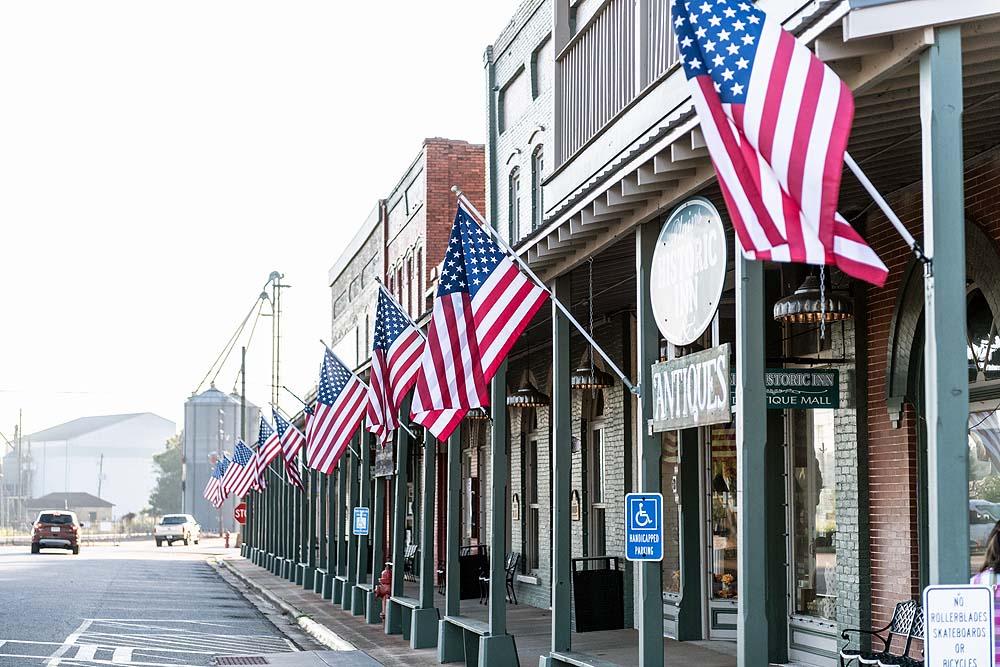 Main Street von Plains, Georgia