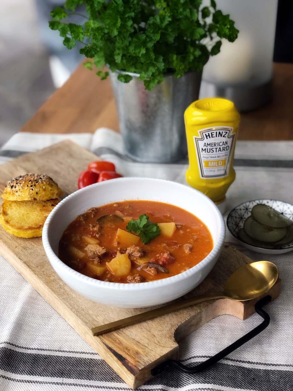 Cheeseburger-Suppe aus dem Instant Pot