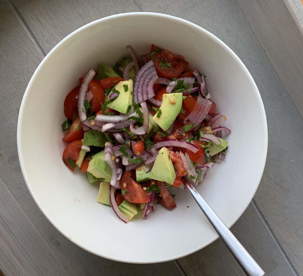 Salsa zu den Fischtacos