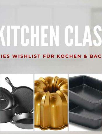 Amerikanische Küchenklassiker fürs Backen und Kochen