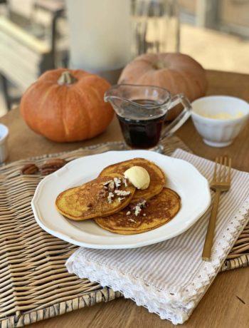 Rezept für Pumpkin Pancakes - Kürbispfannkuchen