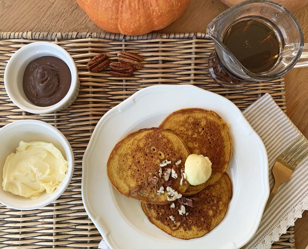 Pumpkin Pnacakes zum Sonntagsfrühstück