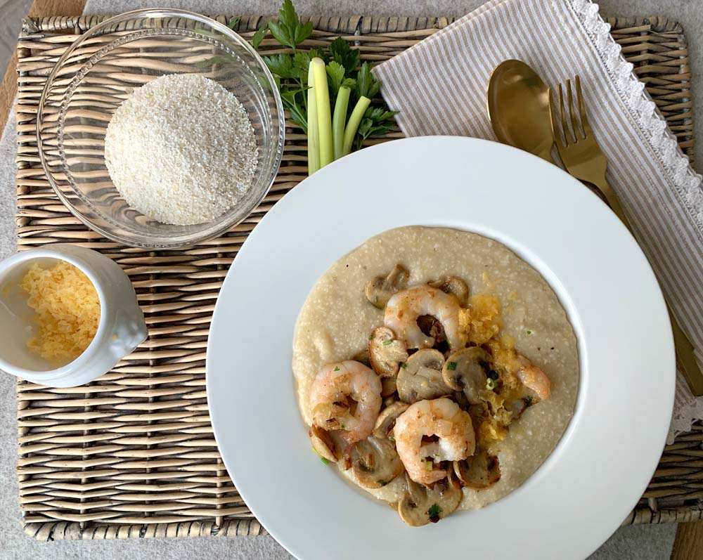 Shrimps and Grits - Südstaaten-Rezept