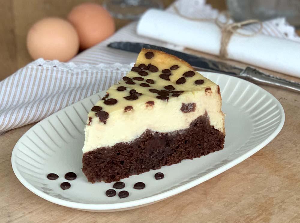 Black Bottom Cheesecake - Käsekuchen mit Schokoboden