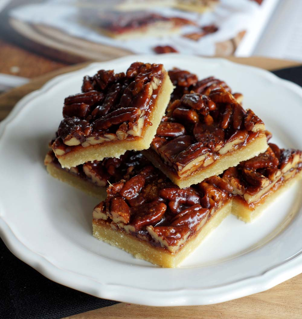 Rezept für Caramel Pecan Bars