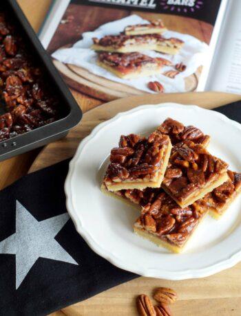 USA-Rezept für Caramel Pecan Bars